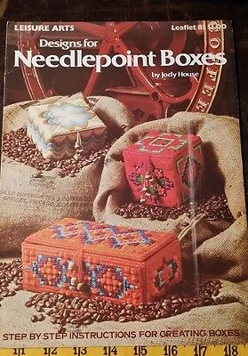 DESIGNS FOR NEEDLEPOINT BOXES JODY HOUSE PATTERN FREE SHIPPING  (Free Box Patterns)