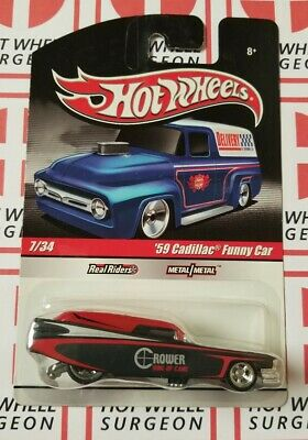 Hot Wheels Delivery '59 Cadillac Funny Car * Crower * NIP 1:64 Scale