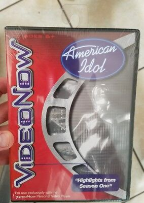 American Idol Highlights From Season 1 Videonow Pvd New Sealed