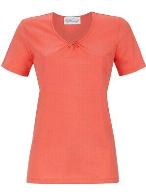 52 Single (- Damen  T. Shirt Kurzarm.. Baumwolle...Größe .52  Single Jersey   Ringella)