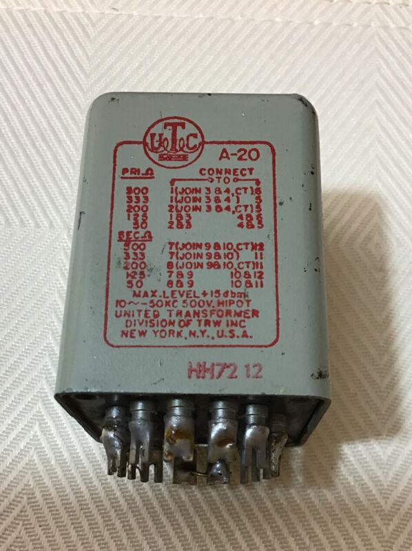 UTC A-20 Transformer