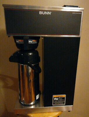 Bunn Coffee Brewer Vpr-aps Black Air Pot Brewer.120 V Free Shipping