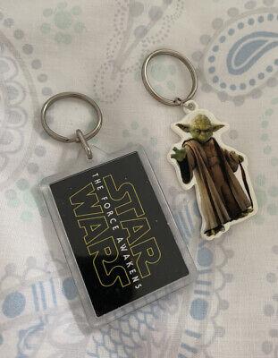 Star Wars Force Awakens Yoda Keyrings