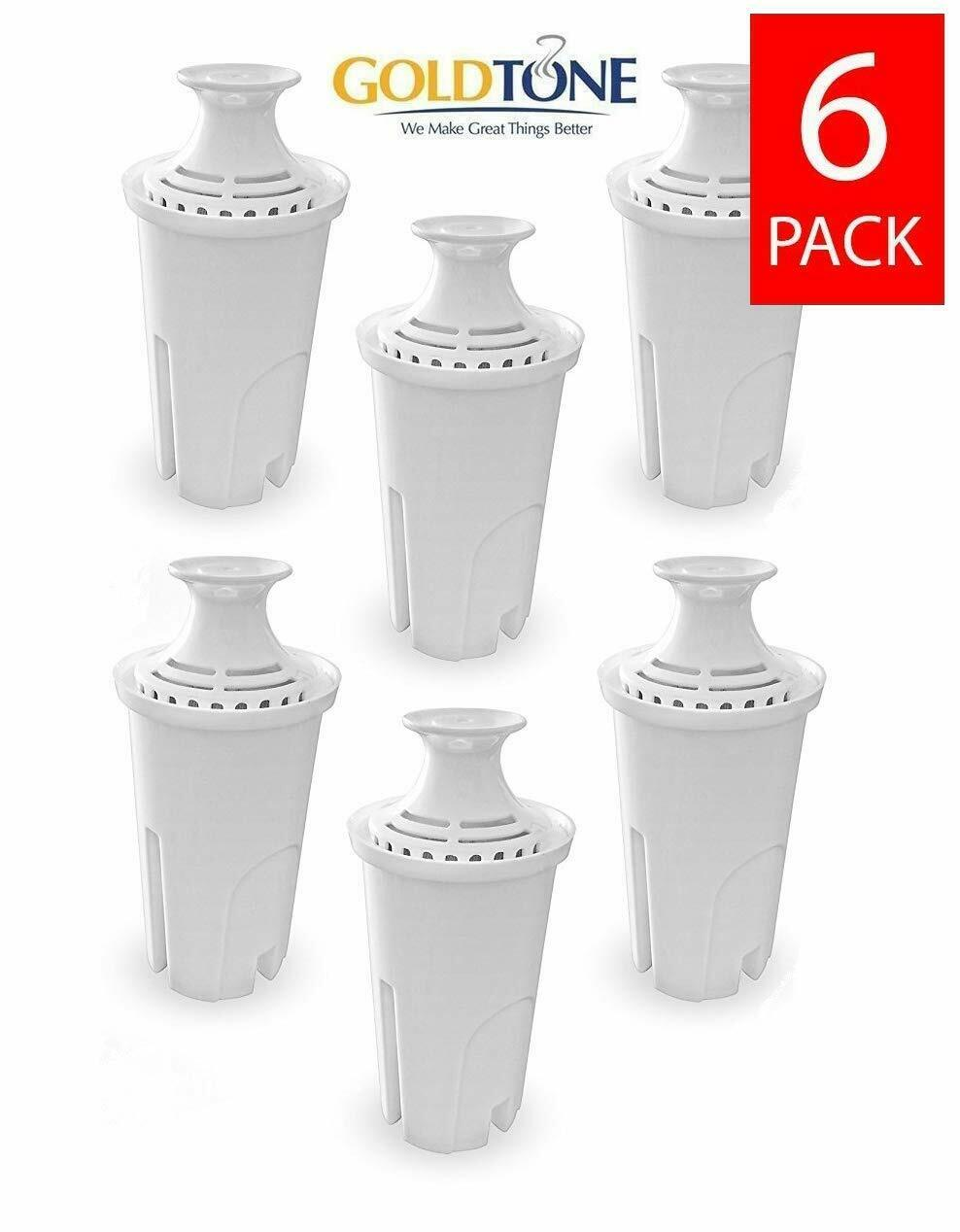 Brita Replacement Charcoal Water Pitcher Filters, Replaces