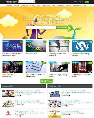 Micro Jobs Marketplace Website Fiverr Clone - Free Installhosting