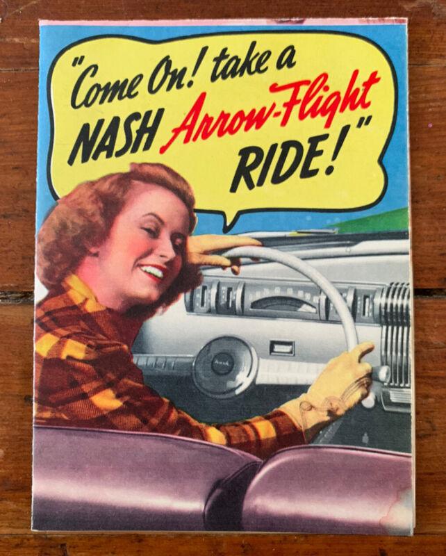 1940 Nash Car Dealer Sales Brochure Catalog
