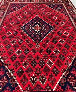 Extra Large Size Hand Woven Persian Joshaghan Rug Carpet
