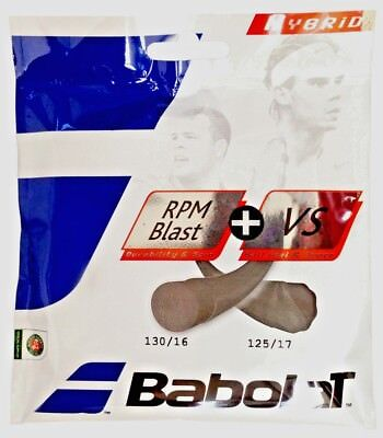 Babolat Hybrid RPM Blast Rough 17+ VS 16 String (Free Express Shipping) for sale  USA