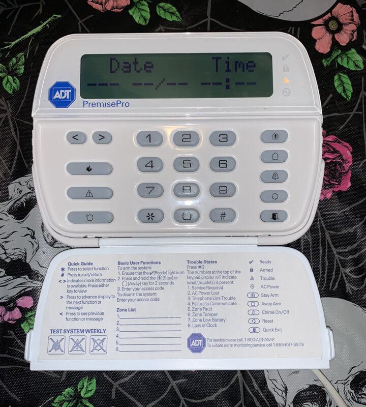 DSC PK5500ENG Full English 64 Zone Alphanumeric Security Keypad Free Shipping