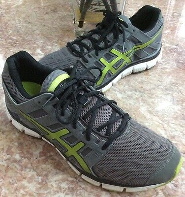Asics Gel Blur 33 Sz 7 Gray Athletic Running Shoes