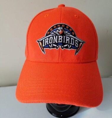 6bdea69ac6f Aberdeen Ironbirds Hat cap MiLB Baltimore Oriole Farm Team Minor League  Baseball