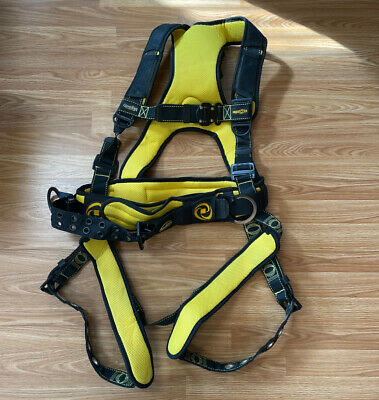 Guardian Fall Protection Cyclone Construction Harness -xl W Miller Safety Lock