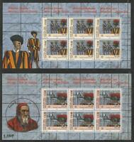 Vaticano - 500° Guardia Svizzera 2005 2 X Foglietti Em. Cong. Con La Svizzera -  - ebay.it