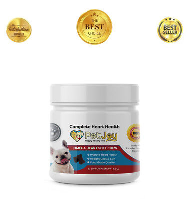 Omega 3 Chews for Dogs Skin and Coat Supplements Dog Fatty Acid Treats