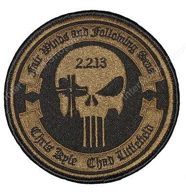 "New Craft International 4"" Patch 2.2.13 Chris Kyle Punisher Chad Littlefield"