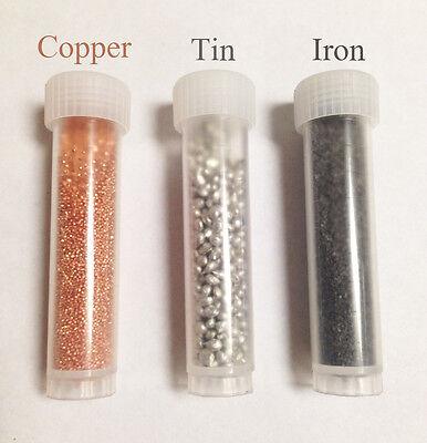 Metal Granules Copper Tin Iron Coarse Granules