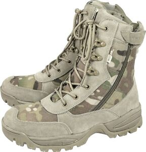 VIPER MIL-COM ARMY PATROL BOOTS DESERT COMBAT TACTICAL ASSAULT WORK SECURITY
