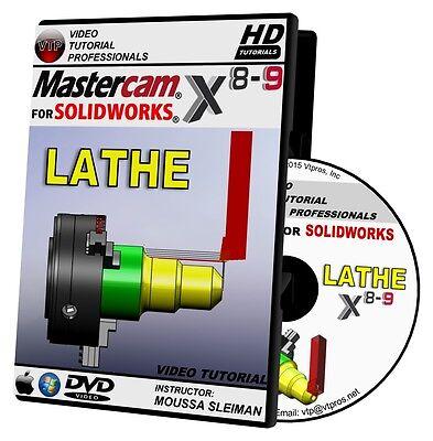 MASTERCAM X8-X9 FOR SOLIDWORKS - LATHE Video Tutor