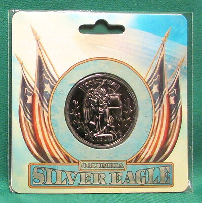 "Official BioShock Infinite Silver Eagle Collectible 1.5"" Coin *NEW SEALED*"