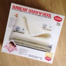 Sunbeam Double / Queen electric blanket Prestons Liverpool Area Preview