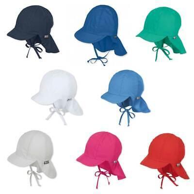 Sterntaler Mütze 1511410 Schirmmütze Nackenschutz Babymütze Sommer UV 50+
