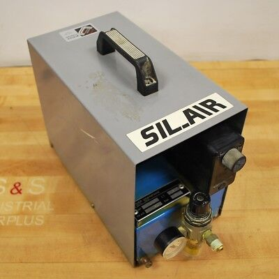 Sil-air 102426 Silent Air Compressor. Gal0.4 Cfm0.7 Psi88 - Used