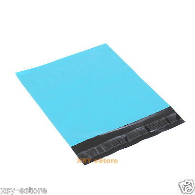 10 Blue Poly Mailers Envelopes Mailing Bags 8.7