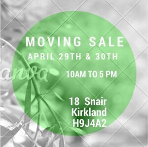 Moving Sale!!!