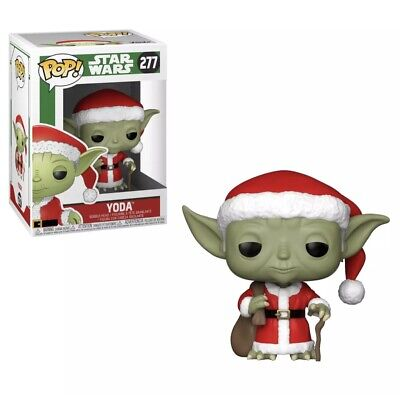 Star Wars Santa Yoda #277 Funko Pop Vinyl Figure Christmas Holidays