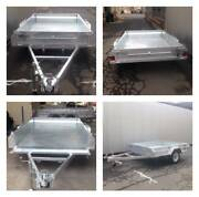 Trailer NEW 8 x 5 Galvanized Box Tilt Trailer ATM 750kg $1,580.00 Rockhampton Rockhampton City Preview