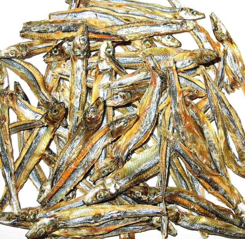 Organic Dried Anchovy Stolephorus Fish 15oz / 2lbs / 5lbs US Seller