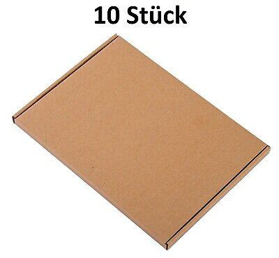 10 Pieza Wellpapp-Faltkarton Envío Grande Embalaje Faltpappe Caja de Cartón