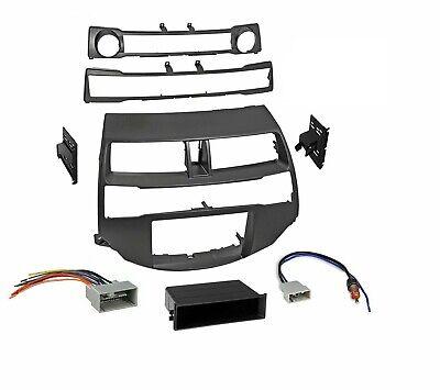 Car Radio Stereo Dash Kit Harness Antenna compatible with 2008-2012 Honda - Compatible Stereo