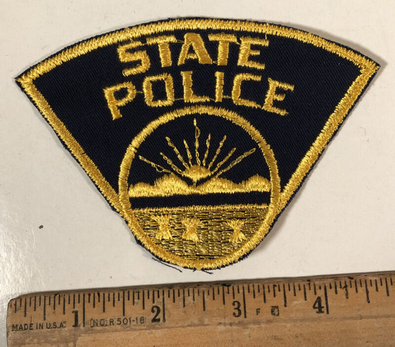 Vintage Ohio State Police Patch Sew On