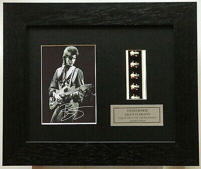 ZIGGY STARDUST David Bowie Limited Edition Original Filmcell Memorabilia COA