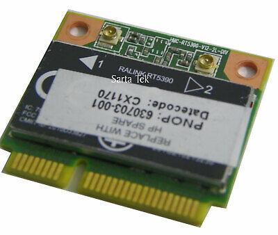 New OEM Ralink RT5390 802.11b/g/n PCIe Half Wireless HP 630703-001 WN6605RH (HP)