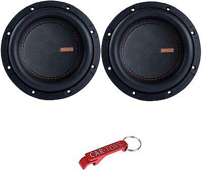 Memphis Audio MJM644 Auto-Subwoofer der Mojo-Serie, 2er-Pack, 6.5