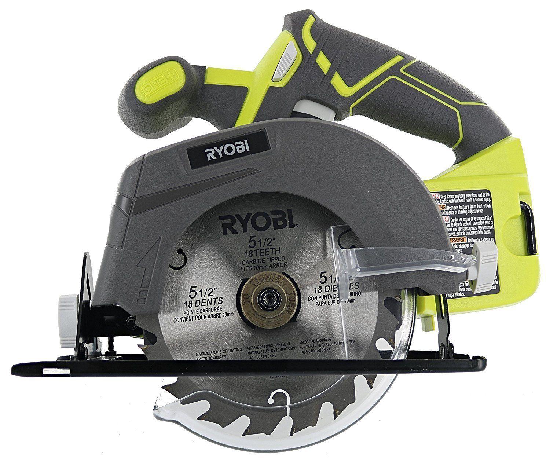 """Ryobi One+ P505 18VOLT  Lithium Ion Cordless 5-1/2"""" 4,700 RP"""