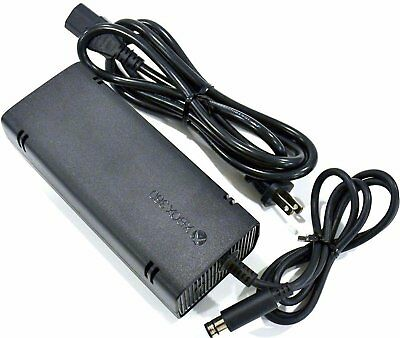 Genuine Microsoft OEM Power Supply AC Adapter Replacement for Xbox 360 (Xbox 360 Slim Ac Power Adapter Replacement)