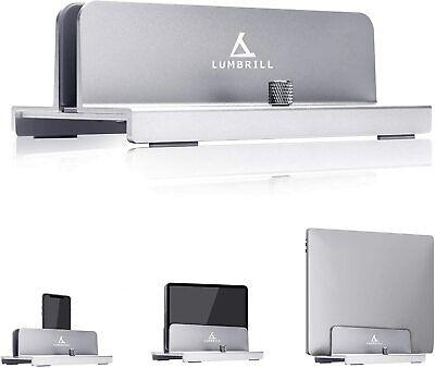 LUMBRILL Soporte Vertical para Ordenador portátil, Doble aleación de Aluminio, S