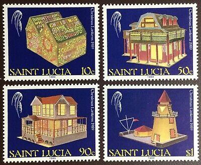 St Lucia 1989 Christmas MNH