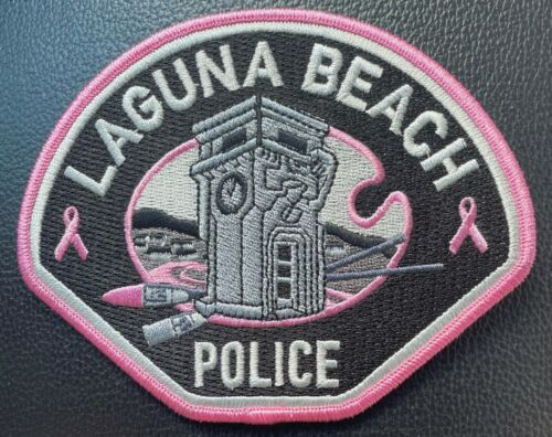 Laguna Beach Police 2021 Pink Patch