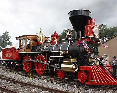 Steam Train 8 x 10 GLOSSY Photo Picture