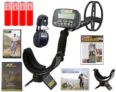 Garrett AT Gold Metal Detector *All Terrain* with Headphones + FREE Shipping