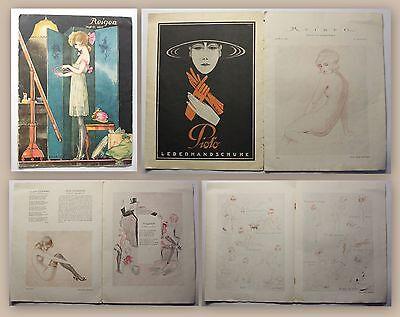 Reigen Blätter für galante Kunst Heft 11 IV. Jg. 1923 Erotik Zeitschrift Erotica
