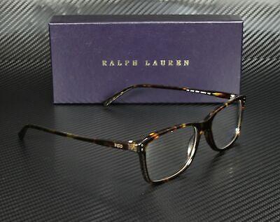RALPH LAUREN POLO PH2155 5003 Shiny Dark Havana Demo Lens 54 mm Men's Eyeglasses