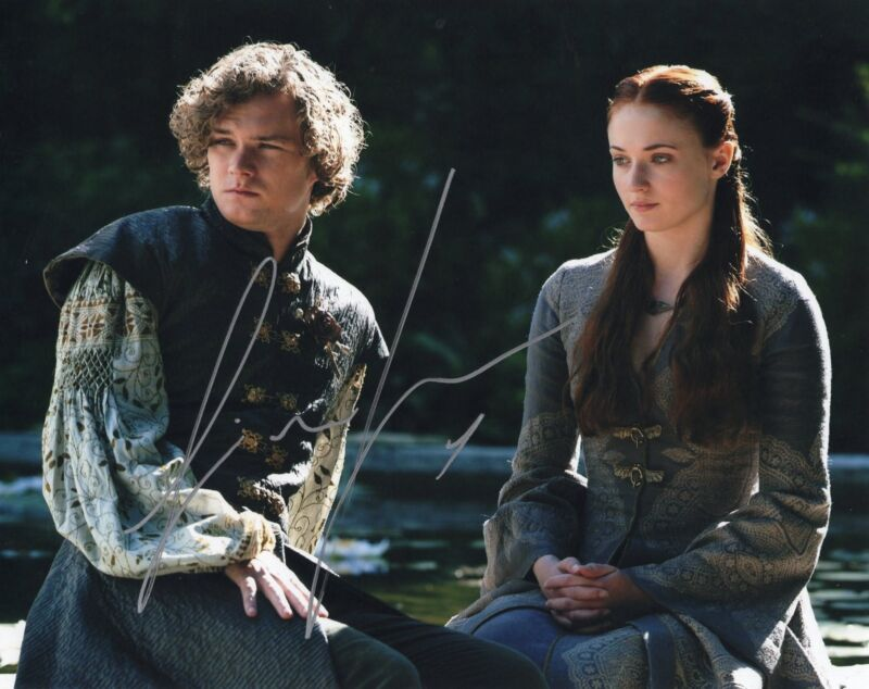 Finn Jones Game of Thrones Loras Tyrell Signed 8x10 Photo w/COA #1