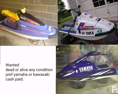 Wanted: wanted jet skis