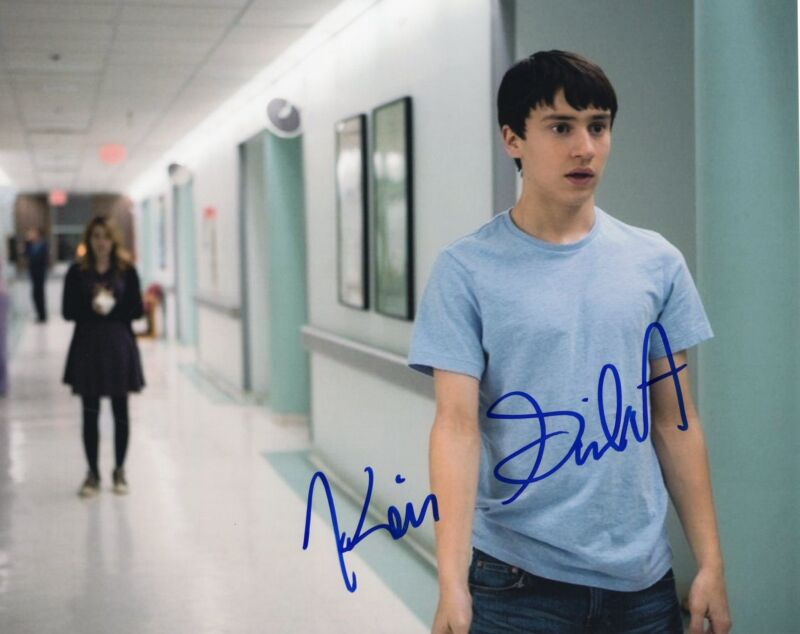 Keir Gilchrist It's Kind of a Funny Story Signed 8x10 Photo w/COA #2