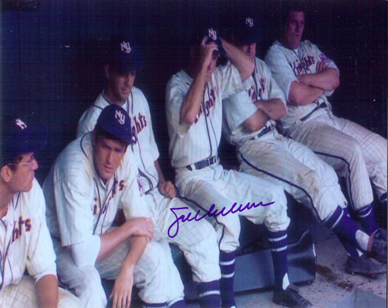 The Natural autographed 8x10 team photo Indians Joe Charboneau an extra ***